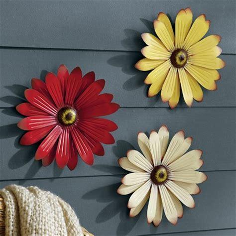 great metal wall decor flowers decorating ideas images in metal wallflowers new seasonal spring summer
