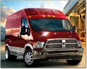Fiat Commercial Vans Dodge Fiat Introducing Commercial Cargo Vans Vehicles