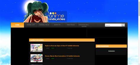 6 Anime Website by Kumpulan Website Anime Subtitle Indonesia Terbaik Just Info
