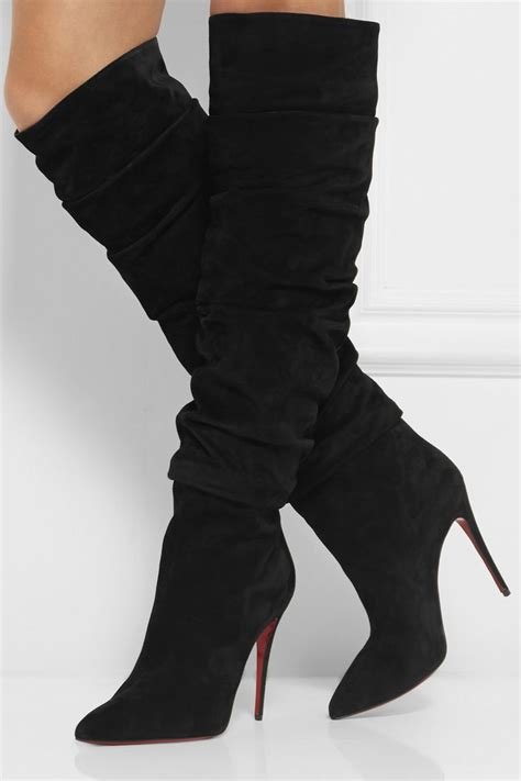 high heel desert boot 1000 ideas about black suede boots on