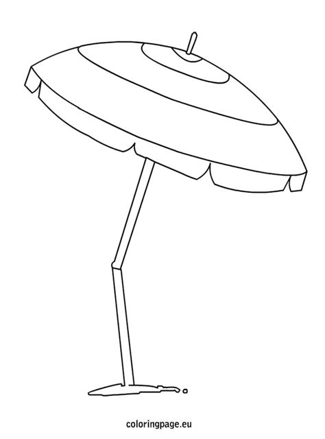 coloring pages with umbrellas beach umbrella coloring page ver 227 o summer pinterest