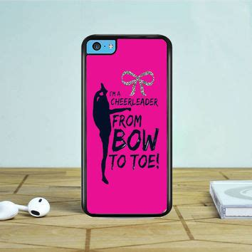 Iphone Iphone 5s Bow To Toe Cover shop cheer iphone 5c on wanelo