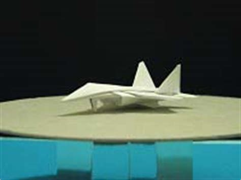 Origami F 22 Raptor - origami dollar f 22 w landing gears tutorial