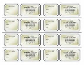 Raffle tickets template printables pinterest