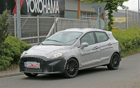 St To 2018 ford st spied benchmarking against current