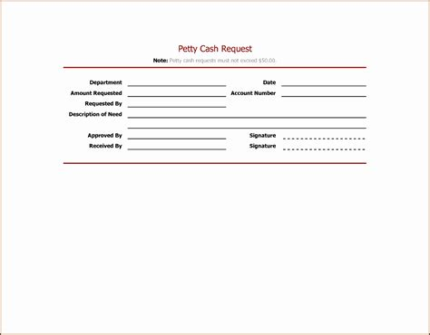 petty cash request form template sampletemplatess