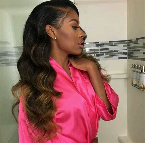sew ins short on one side and long on other side 507 best hair work 2 images on pinterest