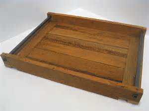 Ottoman Wood Tray Serving Tray Ottoman Tray Wood Serving Tray By Recovereddesign