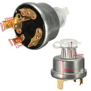 universal tractor ignition switch starter 2 key for massey ferguson deere alex nld