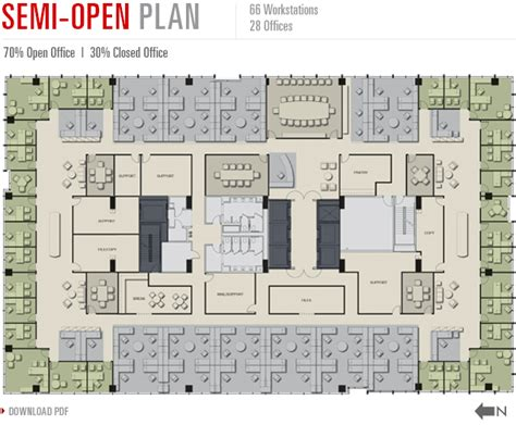 open office floor plan layout best open office floor plans walnut at the banks