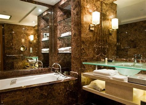 Elegant Bathroom Designs 18 sophisticated brown bathroom ideas home design lover