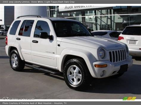 jeep liberty white 2003 2003 jeep liberty white 200 interior and exterior images