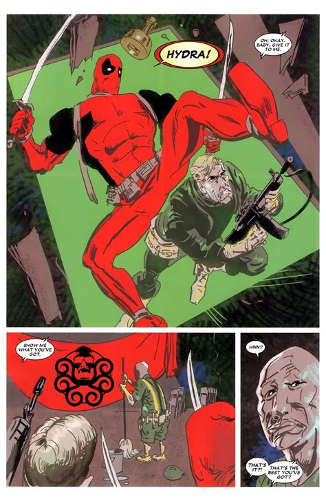 Deadpool Max Second Cut slings arrows