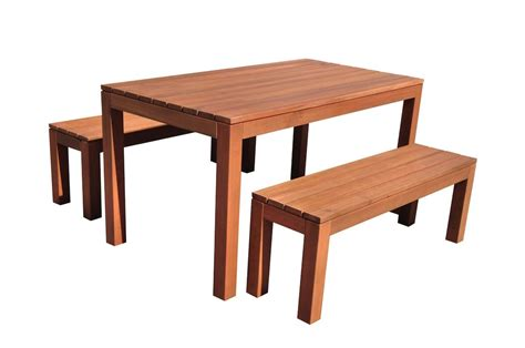 outdoor bench setting tuscan compact 3 piece outdoor furniture bench set teak finish