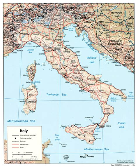 maps of italy free maps of italy