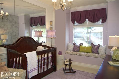 Purple And Green Nursery Decor Sophisticated Purple And Green Nursery Project Nursery
