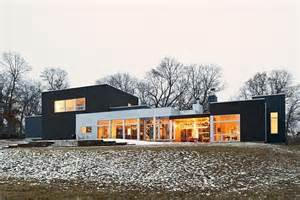 Modern Rancher a ranch tranformed into a modern residence in minnesota