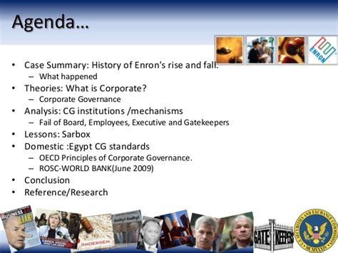 Mba Corporate Governance Notes by Enron Corporate Governance Nesr