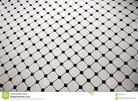 black and white floor l black and white tiled floor stock photo image 6347218