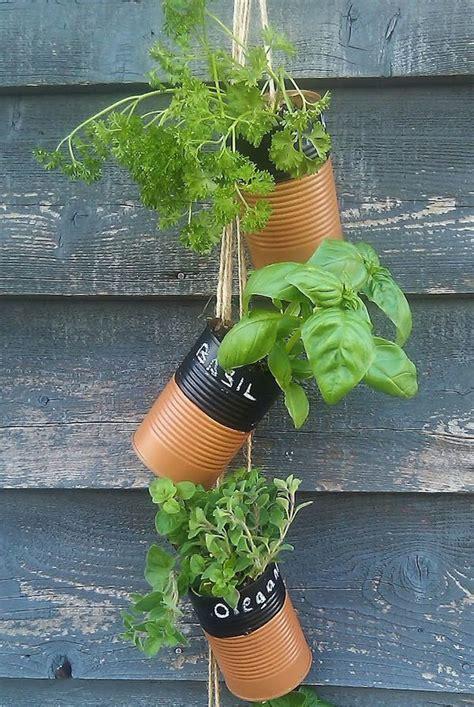 Herb Planter Diy diy hanging herb planter planting pinterest