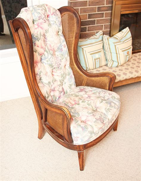 Build A Wingback Chair by Wingback Chair Makeover