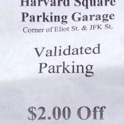 Harvard Square Parking Garage by Harvard Square Parking Garage 10 Photos Parking 65