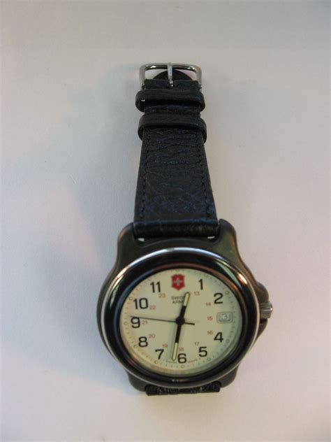 Swiss Army 66223 All Black For Original new victorinox swiss army original black bezel large model 24220 for sale