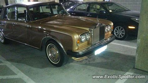 rolls royce silver shadow spotted in dallas on 07