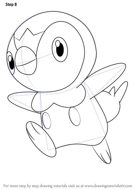how to draw learn how to draw piplup from step by