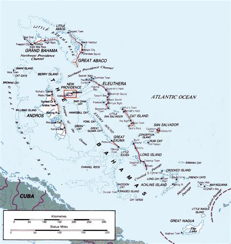 map of usa and bahamas detailed map of bahamas bahamas america