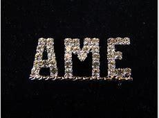 AME Swarovski Crystal Lapel Pin Men's Ties