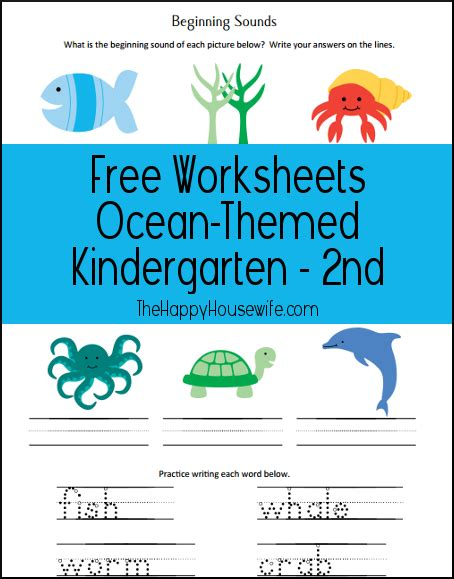 beach themed language arts activities ocean theme free printables for second graders new