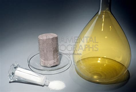 Table Salt Compound Sodium Chlorine Elements Fundamental Photographs The