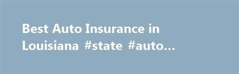 Cheap Auto Insurance Louisiana by 25 Best Ideas About Bodily Injury Liability On