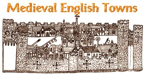 medieval english urban history cities  towns