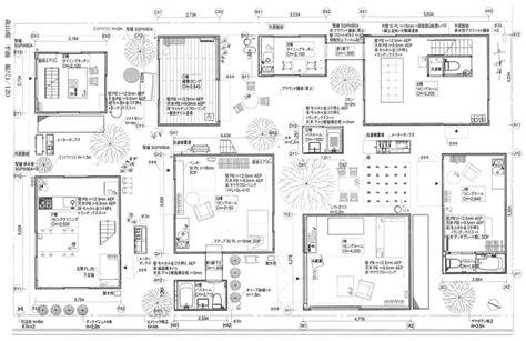 Moriyama House Tokyo Ryue Nishizawa Architecture Moriyama House Plan