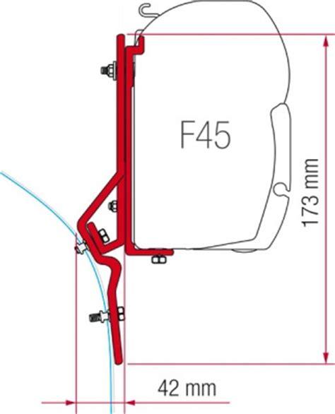 f45 awning fiamma f45 awning adapter kit ducato master