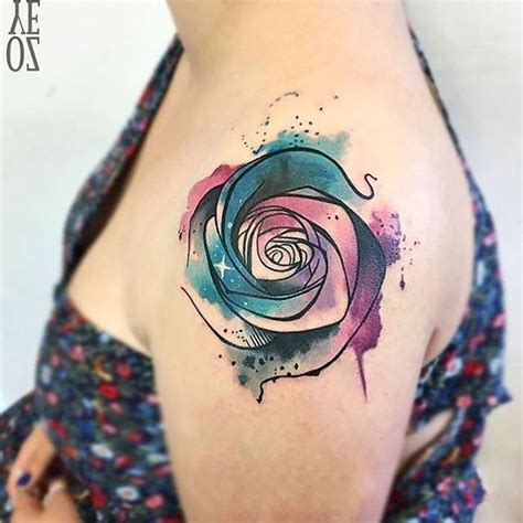 40 breathtaking watercolor flower tattoo designs amazing