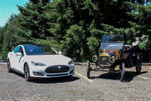 Ford Electric Car Vs Tesla Model Iii Model T Berc