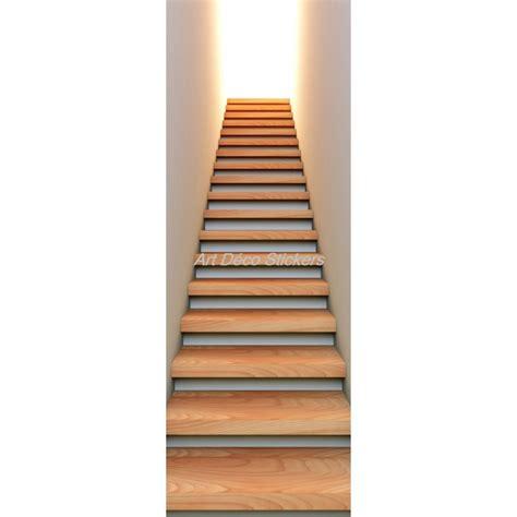 miroir noir 2216 affiche poster de porte trompe l oeil mont 233 e d escalier