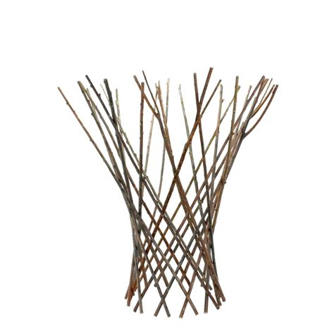 Twig Trellis Medium Flared Twig Trellis By Homart Seven Colonial