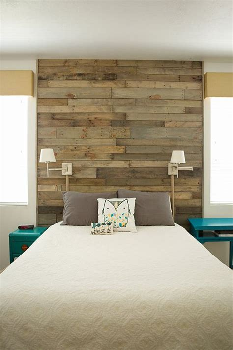 Painted Headboard On Wall by 25 Best Ideas About Painted Wood Headboard On