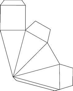 Foto: Easy Paper Crafts | Moldes de caixas de papel, Molde