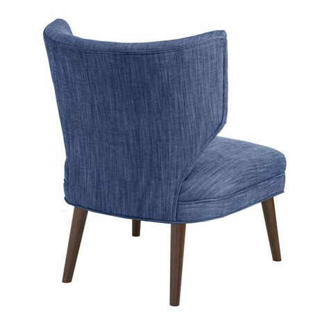 Retro Wing Chair by Park Adley Armless Retro Wing Chair Ebay