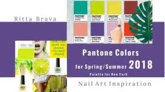 new pantone colors pantone colors for summer 2018 color palette for