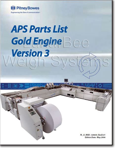 pitney bowes aps advanced productivity system parts