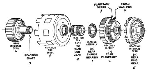 diagram of 4l60e diagram free engine image for user