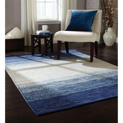 rug shooer walmart home trends area rug 4 ft 11 in x 6 ft 9 in indigo ombre walmart ca