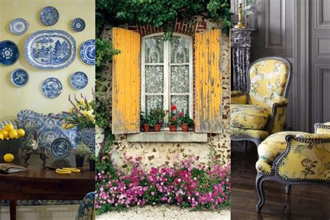 french country style guide colors inspired french country