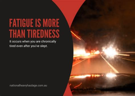 digital fatigue or the new industry spin on just what is fatigue management